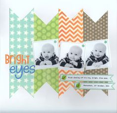 Layout: Bright Eyes love the simple design.