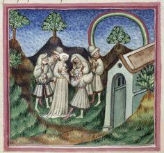 Medieval rainbow, 1434-1439
