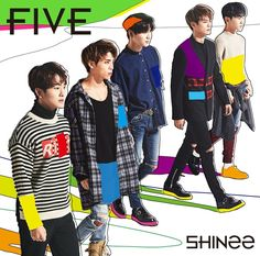 SHINee「FIVE」通常盤 2017 comeback japanese