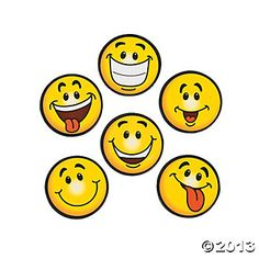 Smile Face Magnets