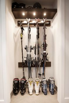 Sitka Whistler Renovations  Ski storage