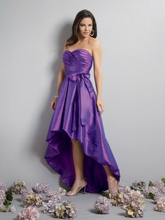 bridesmaid dresses | WhiteAzalea High-Low Dresses: High Low Purple Bridesmaid Dresses