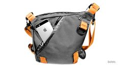 bolstr - The Ultimate EDC Bag. Minimal and Perfectly Sized. Need a few extra pockets? Bolstr is the perfect crossbody bag for guys and their smart phones, keys, wallets, sunglasses, and just a few more items. One of a kind and well reviewed by backers and customers.