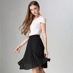 Pleated Skirt, Vintage Inspired for Women