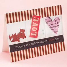 See-Through Valentine Card
