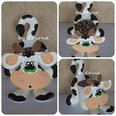 Eid Crafts, Diy And Crafts, Cow Kitchen, Cow Pattern, Felt Wreath, Ideas Para Fiestas, Painting Patterns, Happy Mothers, Projects To Try