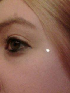 dermal piercing on face