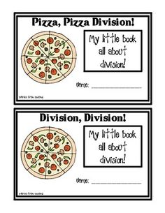 mini division book (freebie)