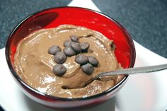 avocado chocolate mousse