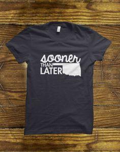 Oklahoma Sooner T-Shirt on BourbonandBoots.com #bourbonandboots