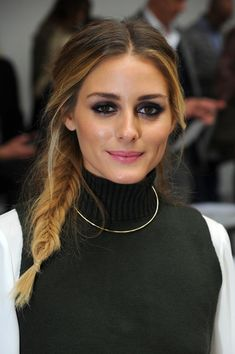 Olivia Palermo. Chaleco punto
