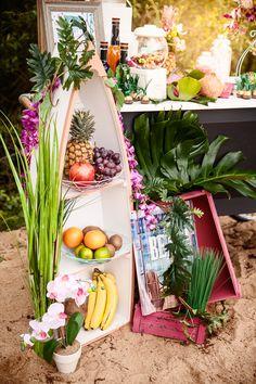 Tropical Wedding – Ideen für eure Strandbar für Hochzeit, Strandhochzeit in Deutschland  | Hochzeitsblog The Little Wedding Corner