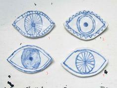 Ceramic Eye Dish
