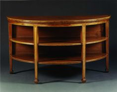 Carlton Hobbs Elliptical Table 1 Half Circle, Complete Sophistication