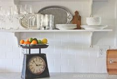 Subway Tile Kitchen Wall & Tips for Making It an EASY Job!   http://www.hometalk.com/l/hcX