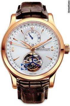 Jaeger-LeCoultre Master Tourbillon $66,000 #Jaeger-LeCoultre #watch #watches #chronograph Jaeger-LeCoultre Calibre 978 (28,800vph, 302 parts, 33 jewels)