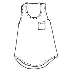 Wiksten Tank Sewing Pattern
