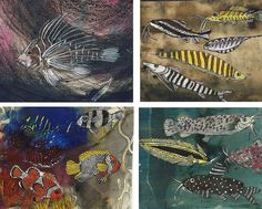 Eudald Alabau - Fishes Miniatures, Fish, Painting, Art, Art Background, Pisces, Painting Art, Kunst, Paintings