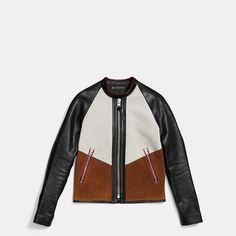 Coach | Patched Zip Racer Jacket