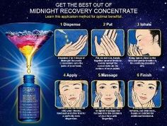 Get the best of our Midnight Recovery Concentrate.