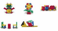 LaQ Bouwsteentjes uit Japan / Basic 3-D 011 5-in-1
