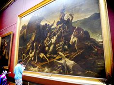 Details the Raft of Medusa | Raft of the Medusa - Louvre - Paris by SirInkman