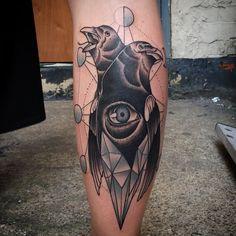 Done by Chris @ Silver Needles, Southend, UK. Instagram @Bintt