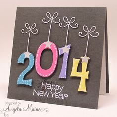 from the tool shed happy new year new year cards handmade happy new