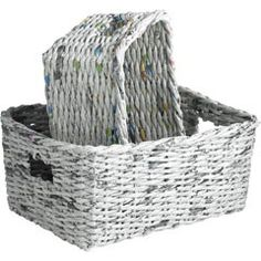 Recycled Newspaper Baskets | review | Kaboodle