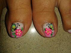 Toe Nail Art, Easy Nail Art, Toe Nails, Mani Pedi, Manicure And Pedicure, Zebra Print Nails, Cute Pedicures, French Pedicure, Beautiful Toes