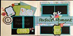 Blossom Paper Pack. Layout created by Deb Killian, http://paperhugz.blogspot.com/