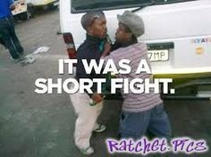 It was a short fight - funny ghetto pictures, funny pictures, ratchet pictures
