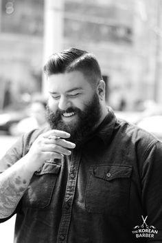 beardsftw: thekoreanbarber: Streets of Toronto… Tattoos. Beard. & A Cigarette www.facebook.com/thekoreanbarber © thekoreanbarber...
