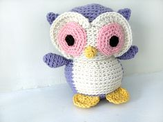 Ravelry: Amigurumi Nelson the Owl pattern by Stacey Trock