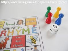 Rhyming Activities and Games!  Many students struggle to understand the concept of rhyme. This packet is suitable for RTI, Speech Therapy or classroom centers.