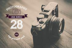 Photography Logo Bundle by Marish on Creative Market