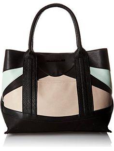 Steve Madden Bmelody Multi Tote Bag, Blush Multi, One Size ❤ Steve Madden