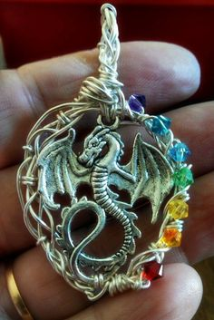 Hey, I found this really awesome Etsy listing at https://www.etsy.com/listing/213281087/custom-order-chakra-rainbow-dragon