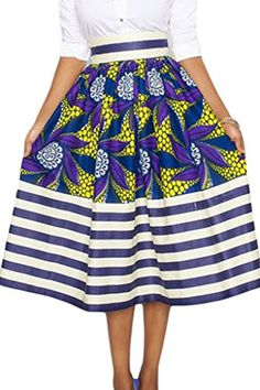 Happy Sailed Womens African Print High Waist A-Line Pleat... https://www.amazon.co.uk/dp/B01LNHCKI8/ref=cm_sw_r_pi_dp_x_MH0SybGHV97RP. Oh how I wish Amazon UK would ship to Spain! Sigh. Love this skirt.(universe please send this to Spain for me and make the supplier start shipping to Spain).Visualising 24/7! lol #Amazonuk #Africanprintalinepleatedhighwaistedskirt