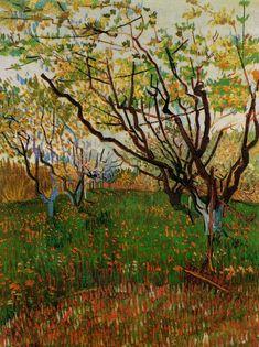 ART & ARTISTS: Vincent van Gogh - Trees part 1