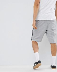 low priced ea1a2 ae143 adidas Originals 3 Stripe Short