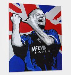 Gascoigne. Rangers. Rangers Football, Rangers Fc, English Legends, Orange Order, Blues Brothers, Glasgow Scotland, Football Wallpaper, Chelsea Fc, Pop Art