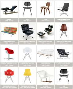 #Eames Seating on the Eames Office Website