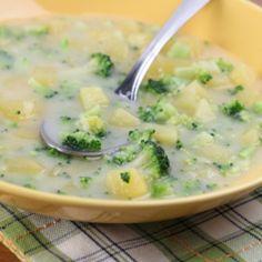 Sopa de Papa y Brocoli