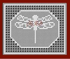 Framed Dragonfly in Filet Crochet. $3.95, via Etsy.