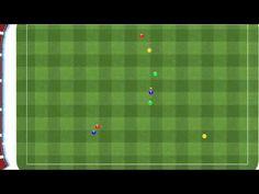 Ejercicio de futbol pases en Y - YouTube