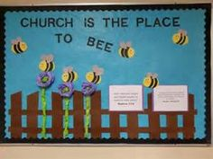March Sunday School Bulletin Board | Sunday School | Pinterest