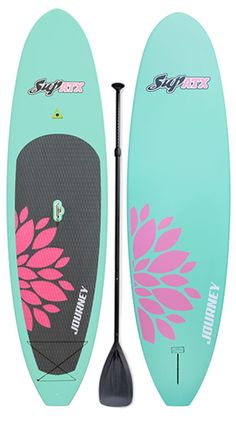 JOURNEY Paddleboard & Paddle | Color: Mint | Length: 10'6"