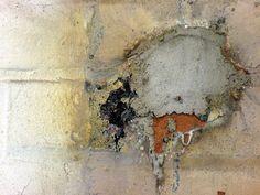 muur in oude fabriek