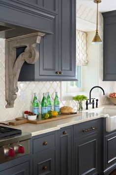 Arabesque Tiles, kitchen, Elsie Interior